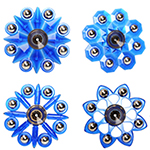 MoYu Fidget Fingertip Eight Balls Hand Spinner Blue - Style Random Delivery
