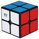 QiYi QiDi S 2x2x2 Speed Cube Black