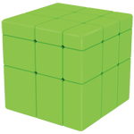 QiYi Mirror Blocks Magic Cube Green