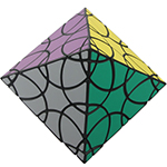 VeryPuzzle Clover Octahedron Twisty Puzzle Toy