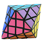 DianSheng Kite Octagonal Cone Magic Cube Black