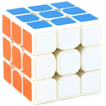 MoYu Cubing Classroom Mini 3x3x3 Magic Cube 50mm White