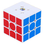 YuXin Little Magic 3x3x3 Magic Cube White