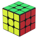 YuXin Little Magic 3x3x3 Magic Cube Black