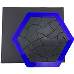 VeryPuzzle Hex Jigsaw Put-together Puzzle Toy