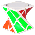 MoFangGe Twisty Skewb Speed Cube Puzzle White