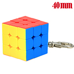 MoYu Cubing Classroom Mini 3x3x3 Frosted Stickerless Cube Ke...