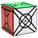 MoYu Fisher Time Wheel Magic Cube Puzzle Black
