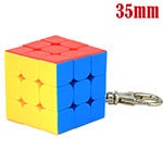 MoYu Cubing Classroom 35mm Mini 3x3x3 Frosted Stickerless Cu...