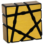 YongJun 1x3x3 Ghost Cube Golden