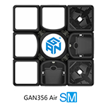 GAN356 Air SM with Magnet Positioning System Black