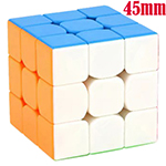 MoYu Cubing Classroom Mini 3x3x3 Stickerless Magic Cube 45mm