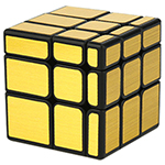 MoYu Cube Classroom Mirror Cube Brushed Gold