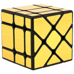 MoYu Cubing Classroom Fisher Mirror Cube Brushed Gold