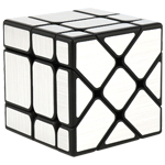 MoYu Cubing Classroom Fisher Mirror Cube Brushed Silver