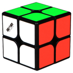QiYi MoFangGe WuXia M 2x2x2 Magnetic Speed Cube Black