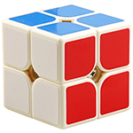 YongJun GuanPo V2 2x2x2 Magic Cube White