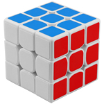 YongJun GuanLong V2 3x3x3 Magic Cube White