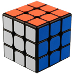 YongJun GuanLong V2 3x3x3 Magic Cube Black