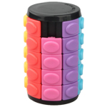 Five-layer Rotate and Slide Puzzle Magic Tower Black