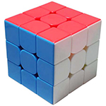 YongJun GuanLong V2 3x3x3 Stickerless Magic Cube
