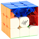 GuoGuan Yuexiao Pro M 3x3x3 Magnetic Stickerless Speed Cube ...