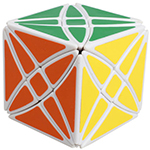LanLan Flower Rex Magic Cube Puzzle White
