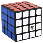 MoYu AoSu GTS M 4x4x4 Magnetic Speed Cube Black
