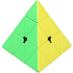 ShengShou Gem Pyraminx Stickerless Magic Cube