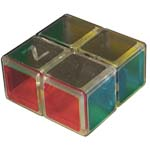 Zcube 1x2x2 Magic Cube Puzzle Transparent