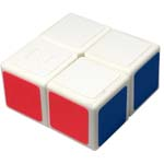 Zcube 1x2x2 Magic Cube Puzzle White