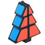 Zcube 1x2x3 Christmas Tree Magic Cube Puzzle Black