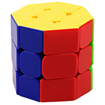 HE SHU Octagonal Barrel Stickerless Cube