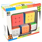 Cubing Classroom 5 in 1 3.0 3.5 4.0 4.5 5.0 Mini Cubes Packi...