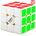 QiYi Valk3 Power M 3x3x3 Magnetic Speed Cube White