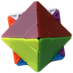 Funs limCube 2x2 Transform Pyraminx·Octahedron Stickerless Cube