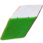 Funs limCube 2x2 Transform Pyraminx·Six-color Prism Stickerl...