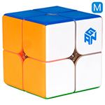 GAN249 V2 M 2x2x2 Magnetic Stickerless Speed Cube