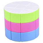 Cylinder 3x3x3 Stickerless Magic Cube