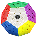 QiYi Galaxy V2 Sculpture Stickerless Megaminx