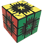 LanLan Hidden Gear 3x3 Magic Cube Black