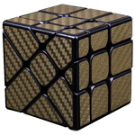 Cubing Classroom Carbon Fibre Fisher Cube Golden