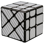 Cubing Classroom Carbon Fibre Fisher Cube Silvery