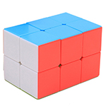 Zcube 2x2x3 Domino Stickerless Cube