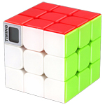 CB 3x3x3 Stickerless Magic Cube with Timer