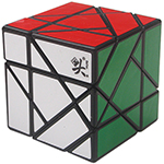 DaYan Eleven Tangram Magic Cube Black