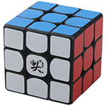 DaYan XiangYun 3x3x3 Speed Cube Black