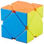 Cyclone Boys Magnetic Skewb Stickerless Speed Cube