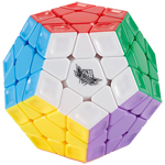 Cyclone Boys Rainbow Megaminx Stickerless Speed Cube