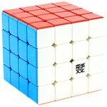 MoYu AoSu GTS M 4x4x4 Magnetic Speed Cube Bright Stickerless